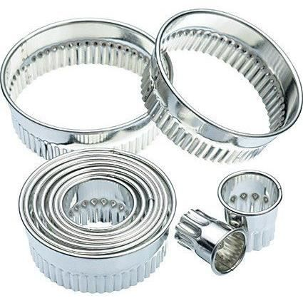 EMPORTE-PIÈCE  Kitchen Craft Emporte-pièces Cannelé Set de 11 …