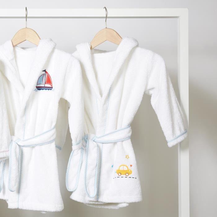 08b0fcf7d62f2 Peignoir de bain enfant à capuche motif Voiture - Achat / Vente ...