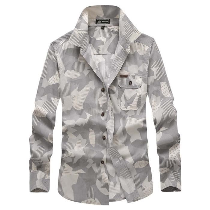 chemise camouflage achat vente chemise camouflage pas cher cdiscount. Black Bedroom Furniture Sets. Home Design Ideas