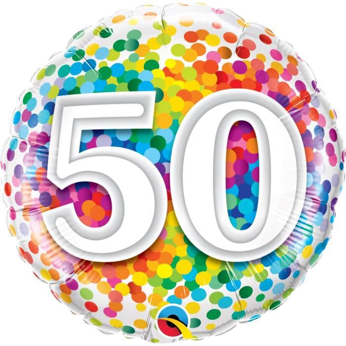 ballon anniversaire 50 ans achat vente ballon anniversaire 50 ans pas cher cdiscount. Black Bedroom Furniture Sets. Home Design Ideas