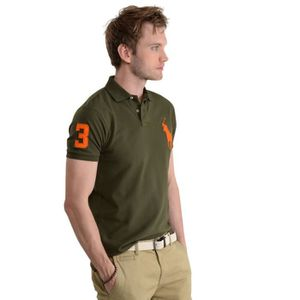 Polo vert homme - Achat   Vente Polo vert Homme pas cher - Cdiscount f61c48f0cdc