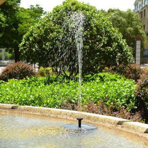 Fontaine de jardin solaire - Achat / Vente Fontaine de jardin ...