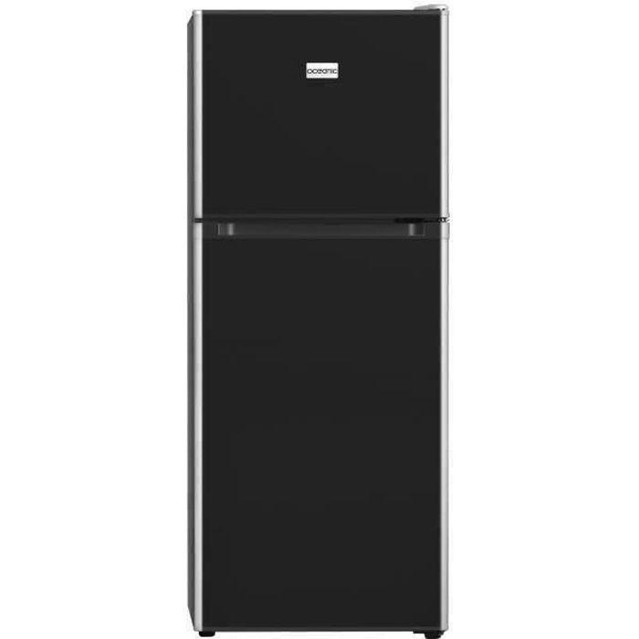 OCEANIC OCEAF2D134B Réfrigérateur 134L (95L + 39L)-2 portes Congélateur haut-Froid statique-A+-L 48