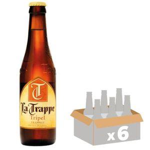 BIÈRE BRASSERIE LA TRAPPE Triple - Bière Ambrée - 33 cl