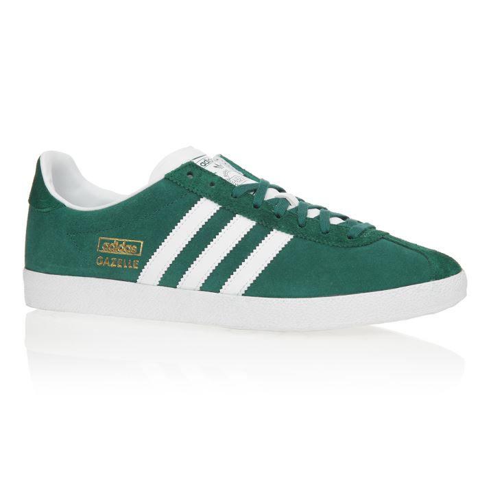 chaussure adidas gazelle og vert noir