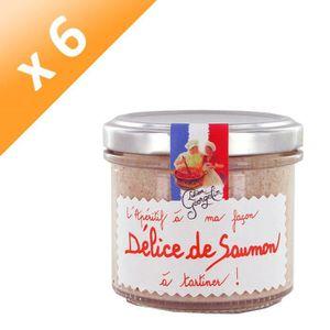 BISCUITS APÉRITIF Lot de 6 Délices de Saumon