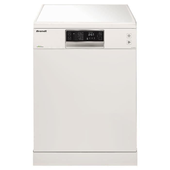 LAVE-VAISSELLE BRANDT DFH13534W - Lave-vaisselle posable - 13 cou