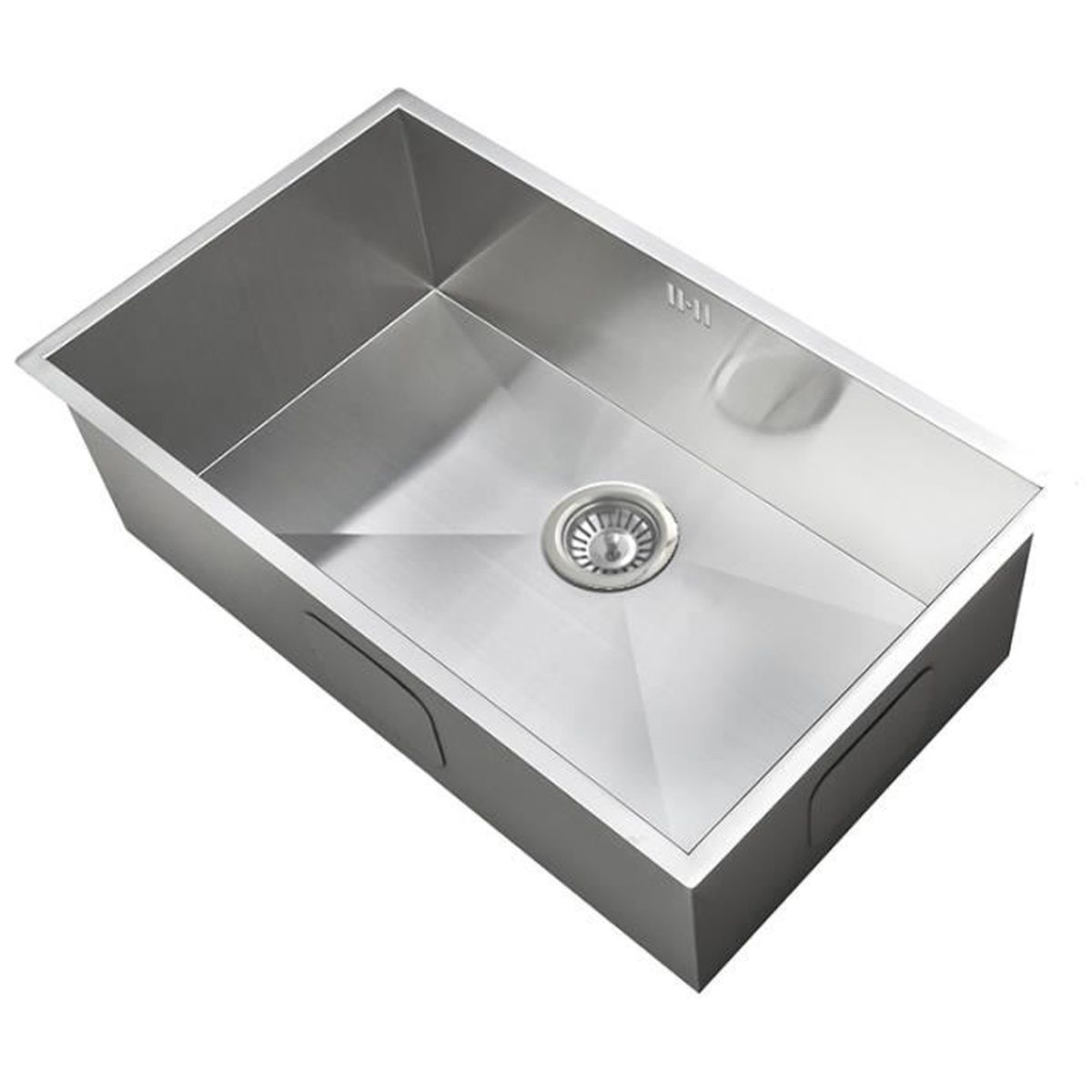 grand évier inox sous plan 1 bac (ds008) - achat / vente evier de