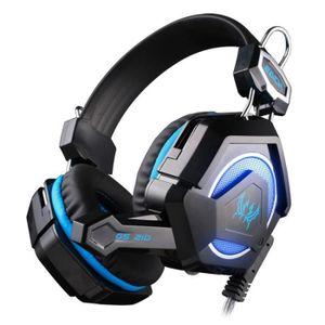 CASQUE - ÉCOUTEURS Chaque tête GS210 porter anti bruit ordinateur Hi-