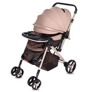 POUSSETTE  MoonSater YA - 2305 Poussette bébé à roulettes uni