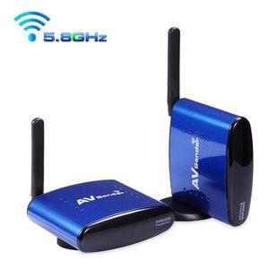 Récepteur audio PAT-630 5.8GHz ISM Sans Fils TV SD AV Expéditeur é