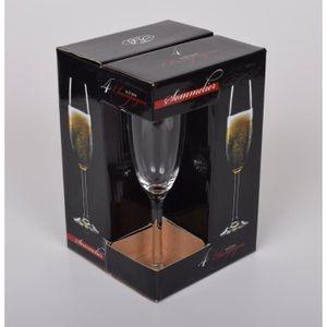 Coupe à Champagne Coffret de 4 flûtes à champagne. Dégustation