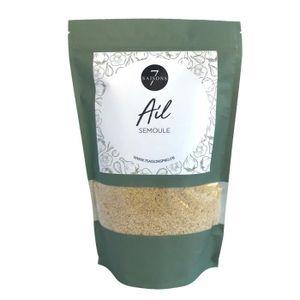 EPICE - HERBE Ail - Semoule - Sac de Kraft de 370 gr - Aromate d