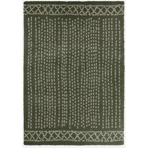 TAPIS CONTINENTAL Tapis de salon laineux 160X230 cm Vert