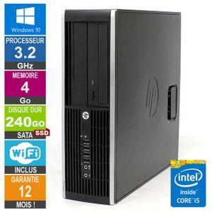 UNITÉ CENTRALE  PC HP Pro 6300 SFF Core i5-3470 3.20GHz 4Go/240Go