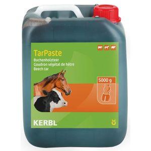KIT TOILETTAGE PANSAGE KERBL Goudron végétal de hêtre pour chevaux - 5kg