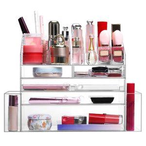 BOITE DE RANGEMENT LANGRIA Boîte de Rangement Maquillage Comptoir Cos