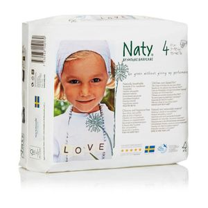 COUCHE NATY Nature Babycare Taille 4 - 7 à 18 kg - 27 cou