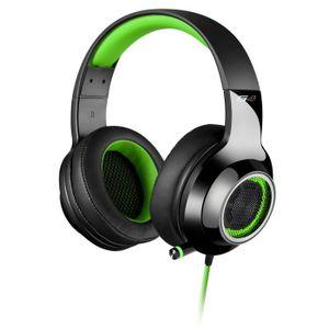 CASQUE - ÉCOUTEURS EDIFIER G4 Écouteurs de Musique Casque de Jeu USB
