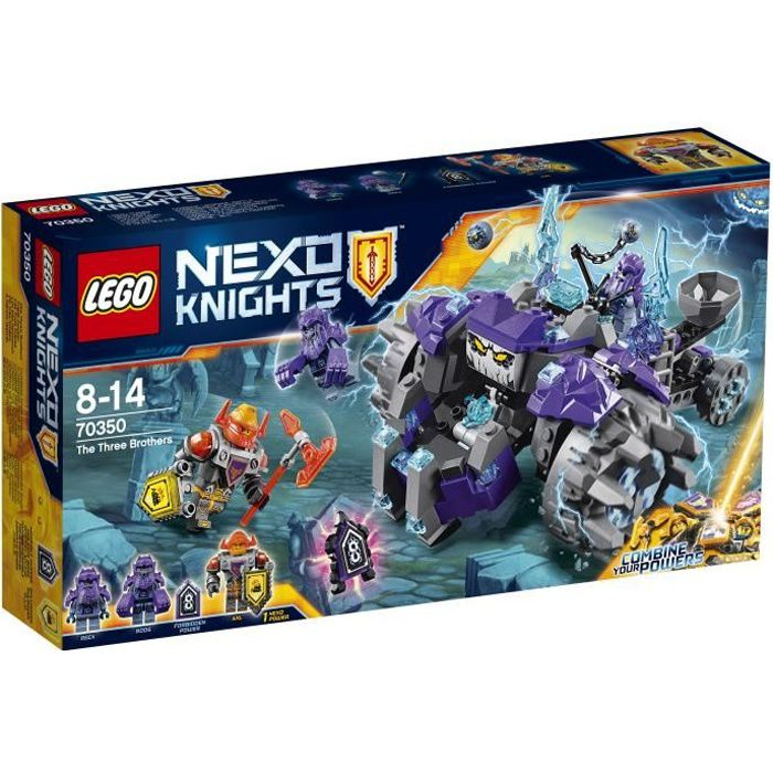 LEGO® Nexo Knights 70350 Les Trois Frères