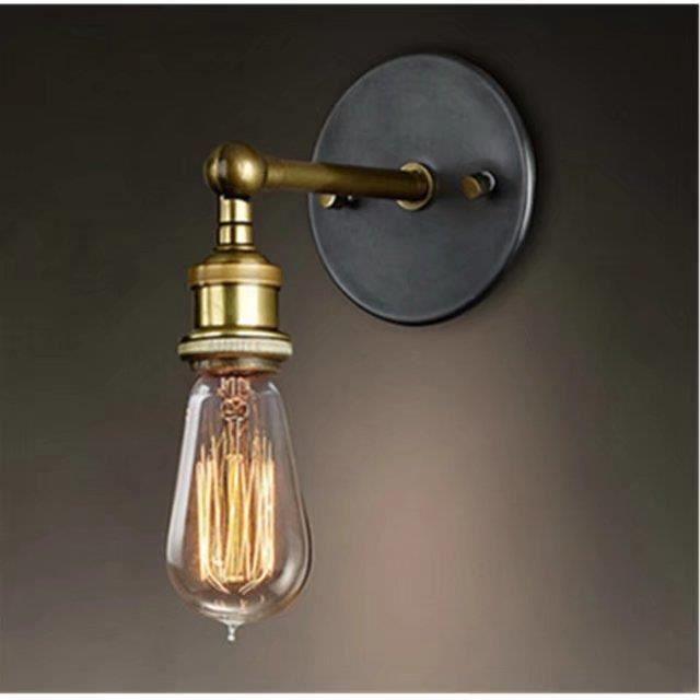 De Haute Qualite Applique Murale Vintage Applique Applique Murale De Cuisine Loft Retro  Metal Ajusté Designer AC 110 220V E27 Edison Lampe Lampe De