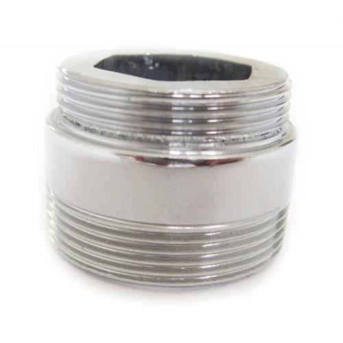 adaptateur métallique solide aérateur 22mm à 24mm - achat / vente ... - Adaptateur Douchette Sur Robinet