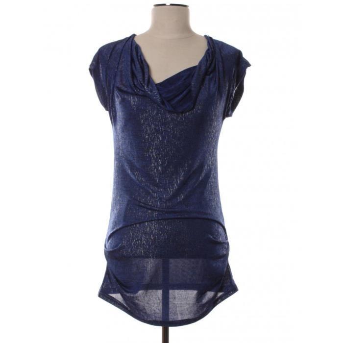 Robe MORGAN 34 Bleu en Polyester
