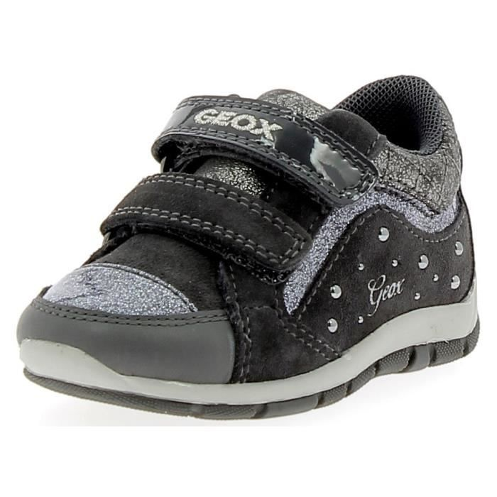 Geox Shaax Gris Petite G Geox Fille Sport B de Gris Chaussures OqdA7z