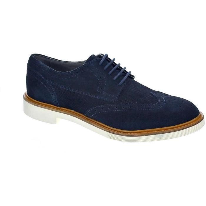 48c61c03f19 Chaussures à lacets - Geox Damocle Homme Azul 41 Bleu Bleu - Achat ...