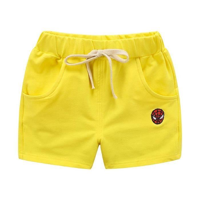 Short en Coton Enfant Fille et Garcon Taille