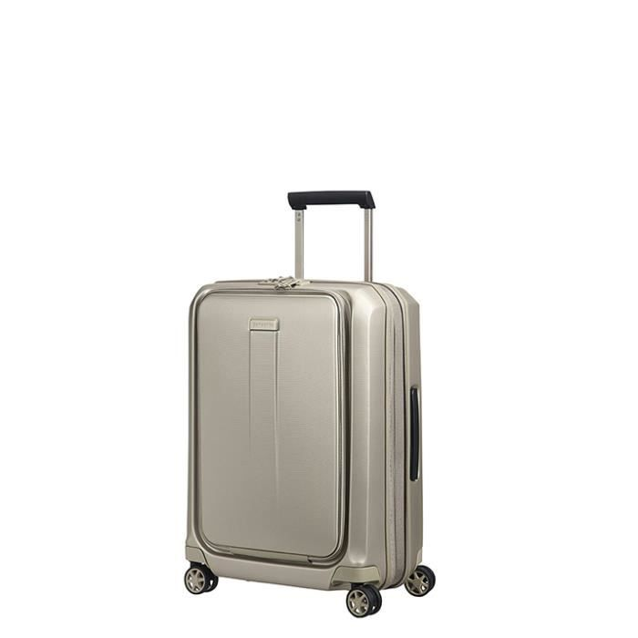 Valise Samsonite cabine rigide Prodigy 55 cm - 2 roues Ivory Gold beige