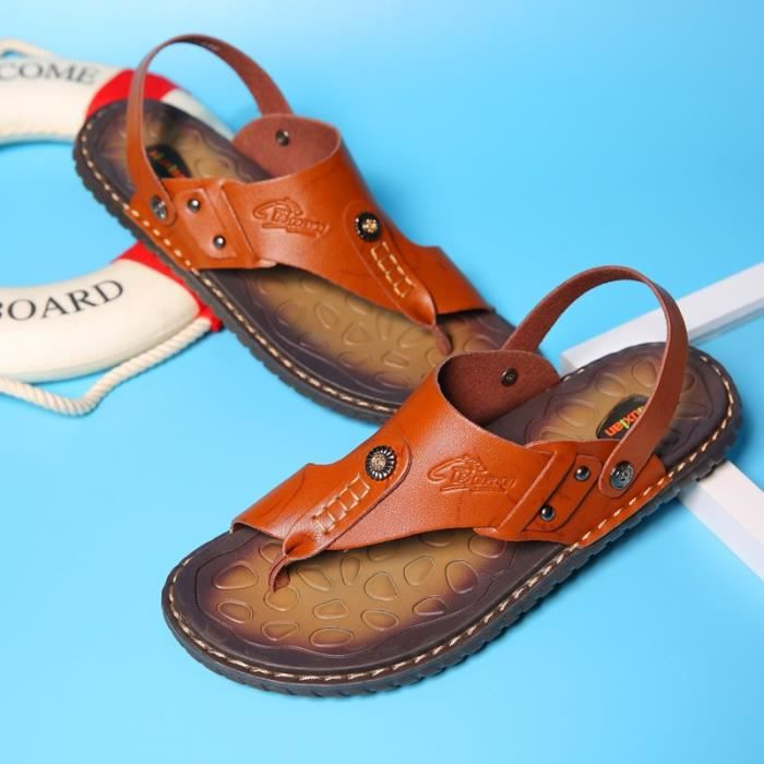 Étanche Skid résistance Beach Hommes Chaussures Chaussures Sandales 70Von