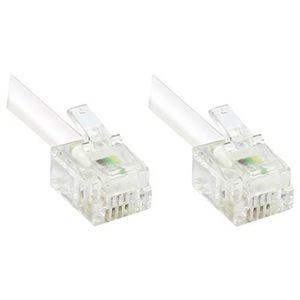 MODEM - ROUTEUR CABLING® Câble RJ11 vers RJ11 4 broches pour modem