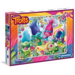 PUZZLE Puzzle 180 pièces Trolls