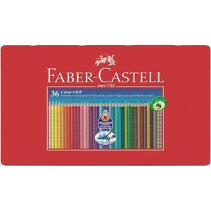 CRAYON DE COULEUR FABER-CASTELL Boîte de 36 Crayons de couleur Colou