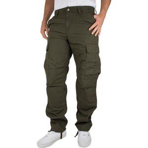 96c4391112528 Carhartt WIP Homme Pantalon cargo réguliers, Vert Vert - Achat ...