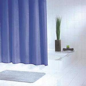 rideau de douche de couleur bleu nuit photo. Black Bedroom Furniture Sets. Home Design Ideas