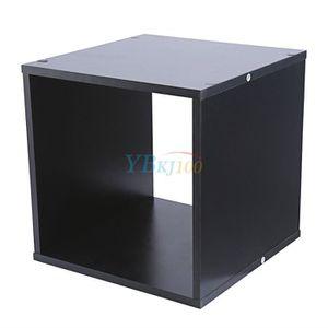 etagere cube noir achat vente etagere cube noir pas cher soldes d s le 10 janvier cdiscount. Black Bedroom Furniture Sets. Home Design Ideas