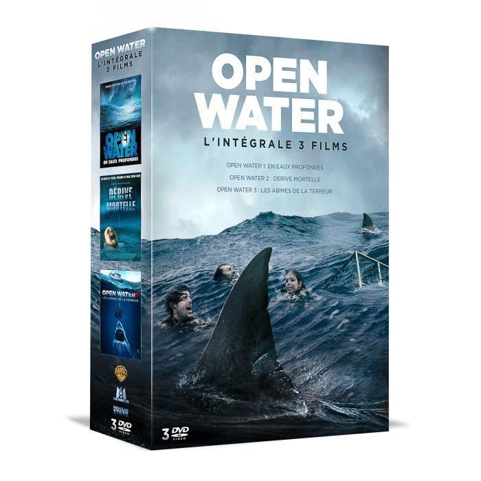 DVD SÉRIE Coffret DVD Trilogie Open Water : En eaux profonde