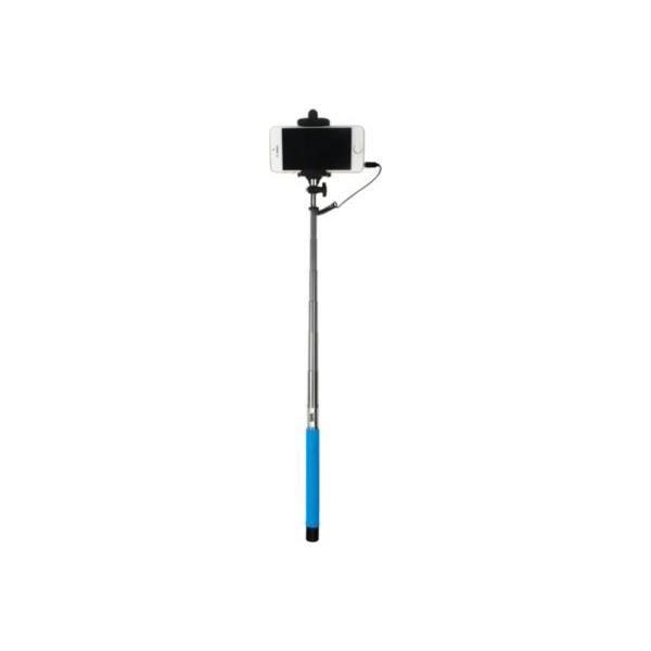 WE Bras Selfie - Longueur 22.5 à 100.5 cm - Compatible IOS 4.0 / Android 3.0 - Bleu