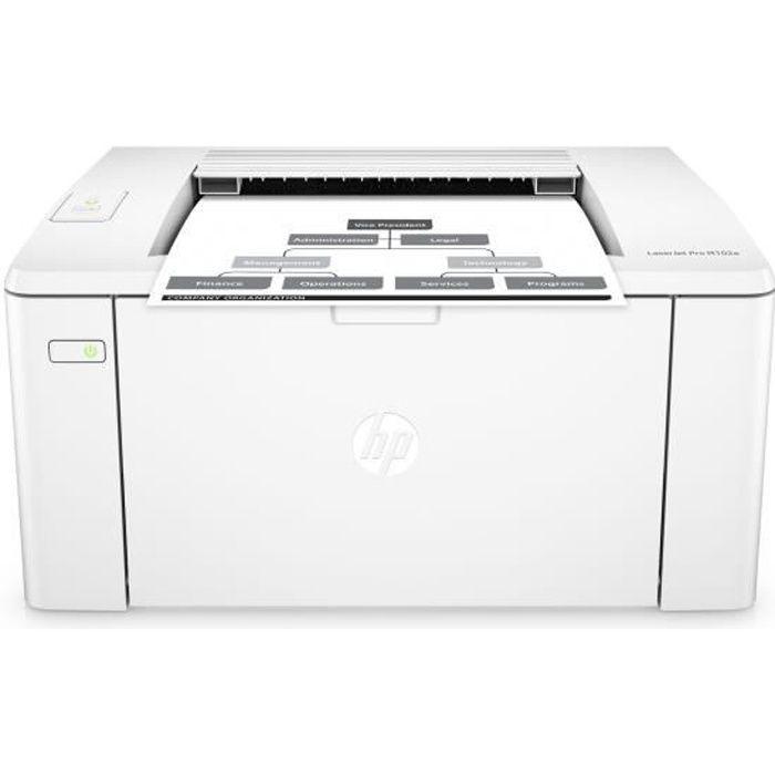 HP Imprimante laser Jet Pro M102a - Monochrome - USB 2.0