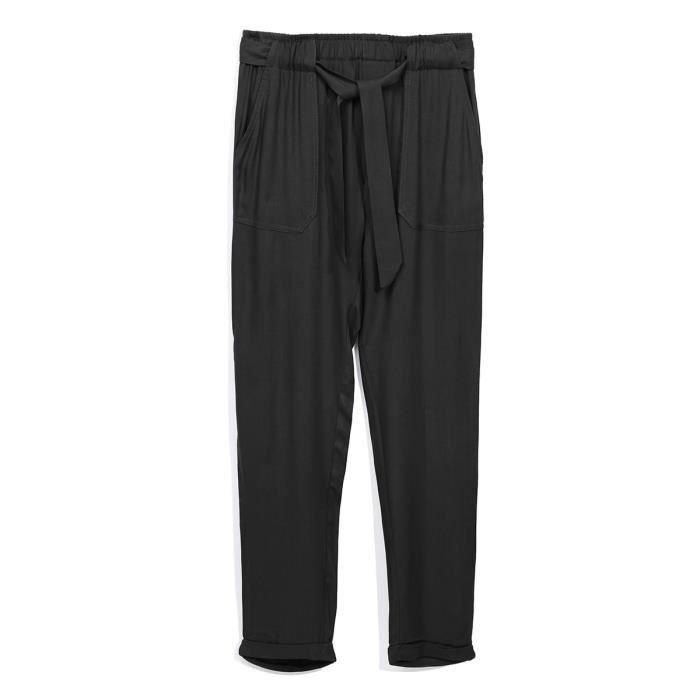 DEELUXE - Pantalon Ample Noir - Enfant Fille