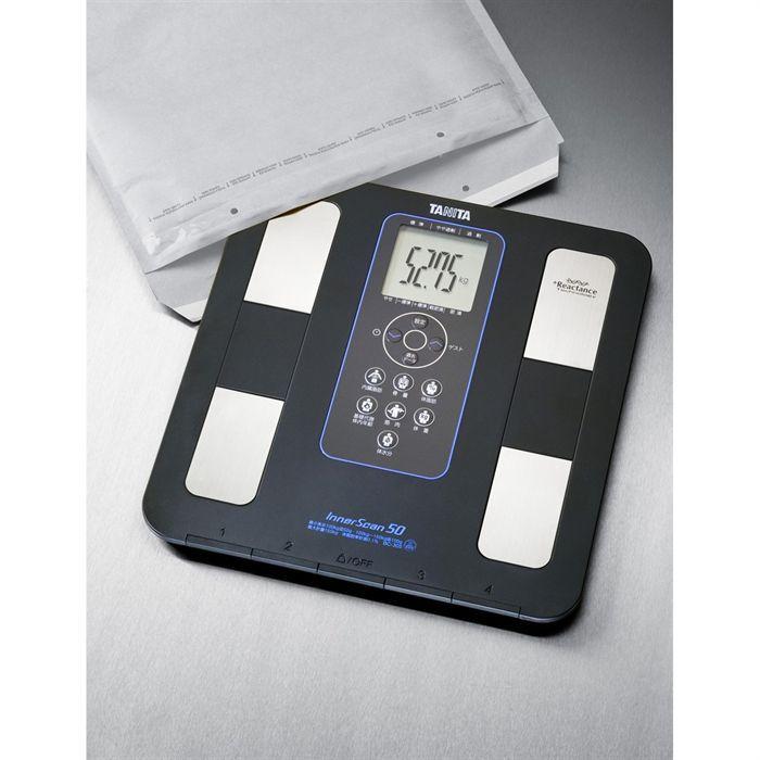 Impédancemètre - Le plus fin des Analyseurs avec 15 mm d'épaisseur - 4 mémoires + 1 touche invité + Affichage Xlarge 59 mm - Précision à 50 grammes...PESE-PERSONNE - IMPEDANCEMETRE - BALANCE