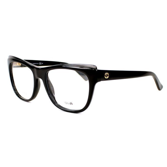 97dd259a350638 Lunettes de vue Gucci GG 3783 -D28 Noir - Achat   Vente lunettes de ...