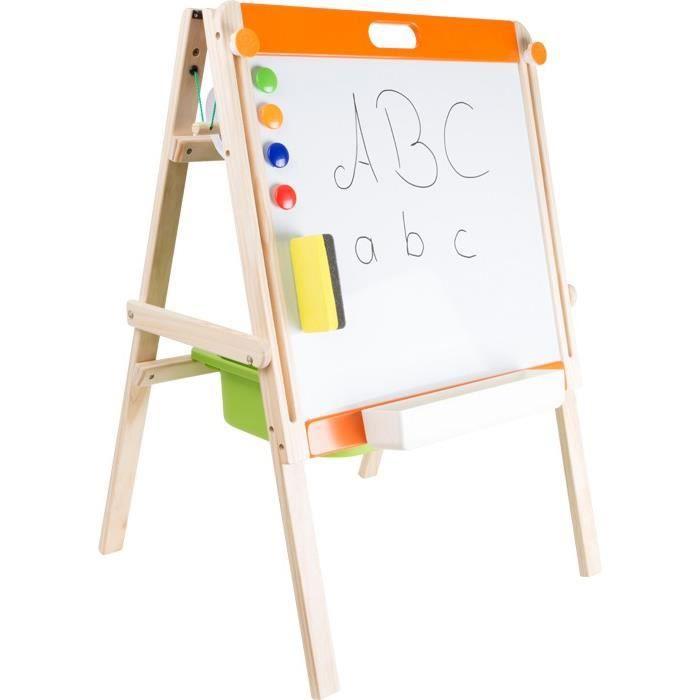 tableau pour enfant craie aimant et feuilles multifonction achat vente ardoise enfant. Black Bedroom Furniture Sets. Home Design Ideas
