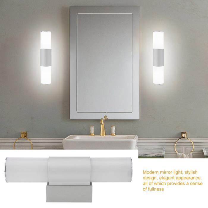 LED Anti-Buée Miroir Lumière Salle De Bains Applique Murale 12W 25 ...