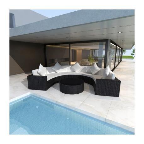 Best Salon De Jardin Bora Bora Noir Pictures - Amazing House ...