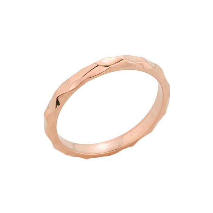 Bague Femme 10 ct Or rose 471/1000Empilable