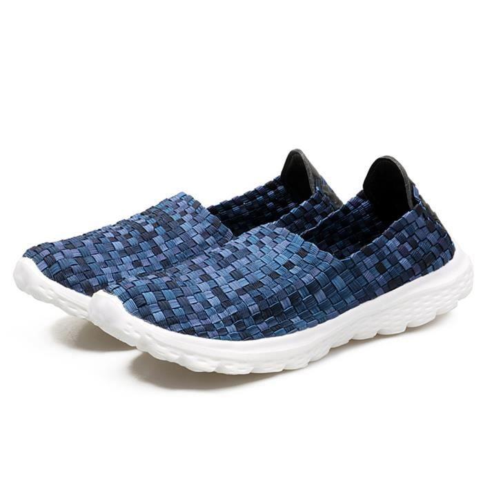 Loafer Femme 2017 Plus De Couleur Confortable Moccasins Respirant Classique Loafers De Marque De Luxe Grande Taille 35-40 EoebxiFhH