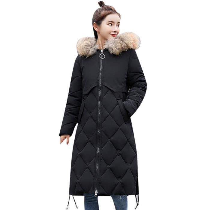 Épais D'hiver Les Veste En Long Fourrure Pageare4137 Chaud Femmes Capuchon À Fausse Manteau Slim SwqAwz5p